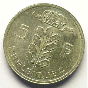 5 Francs   1949  FR   coins tournés 30°    SUP