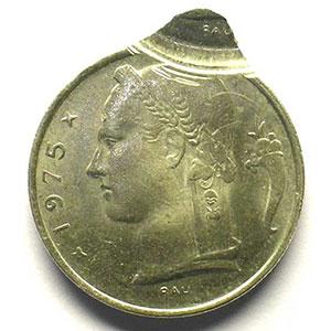 5 Francs   1975  FL    SUP/FDC