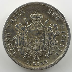 5 Lire   Joachim Murat  (1808-1815)   1813    TB+/TTB
