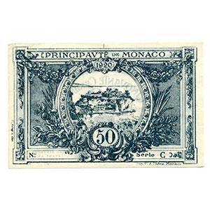 50 Centimes   1920    NEUF