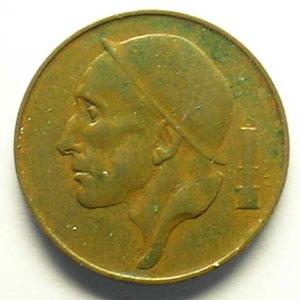 50 Centimes 1953  FR   coins tournés 80°    TTB+