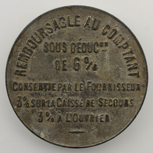 50 Centimes   Zinc nickelé, 27mm    TTB