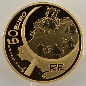 50 Euro   Astérix et Obélix   2013    BE