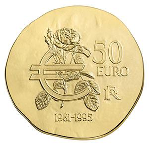 50 euro   François Mitterrand   2015    BE