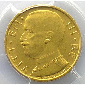 50 Lire   1931  IX R  (Roma)    PCGS-MS61    SUP/FDC