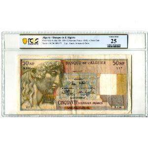 50 NF (Nouveaux Francs)   18-12-1959    TB+/TTB    PCGS-VF25