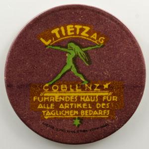 50 Pf brun/vert   Coblenz    TTB+