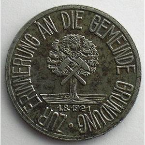 50 Pfennig   1921    TTB