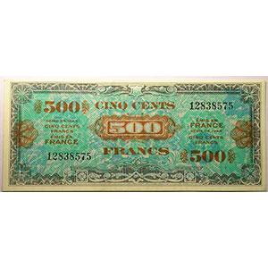 500 Francs   Juin 1944 sans série    SPL