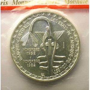 5000 Francs   1982 Essai    FDC