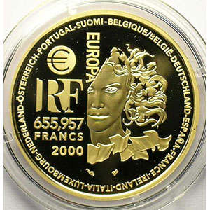 655,957 Francs   2000    BE
