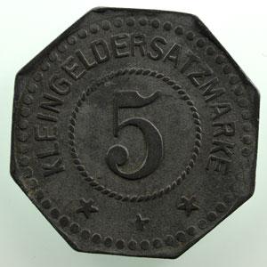 5 (pf)   1917   Zn,8   19,5 mm   TTB