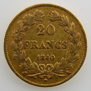 1840 A  (Paris)    TTB
