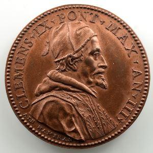 Alb Hamerani   Médaille en bronze   39mm   Le Château Saint-Ange    SUP