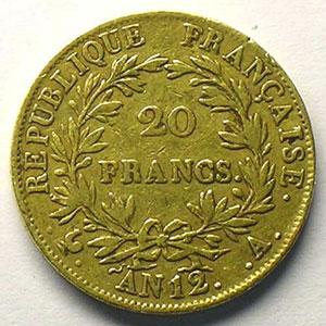 AN 12 A  (Paris)    TB+/TTB