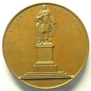 ANDRIEU/BARRE   Bronze   50mm   25 août 1823   TTB+/SUP