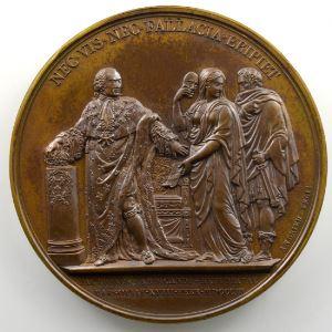 Andrieu   Bronze   50mm   1803   Refus de Varsovie le 18 février 1803    SUP/FDC