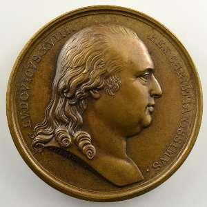 Andrieu   Médaille en bronze  41mm   1820    SUP/FDC