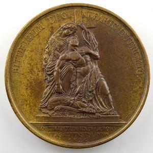 Andrieu/Michaut   Bronze   51mm   1824   Monument du Duc de Berry à Versailles    SUP/FDC