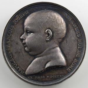 ANDRIEU   Naissance du Roi de Rome   20 mars 1811   argent   32 mm    TTB+/SUP