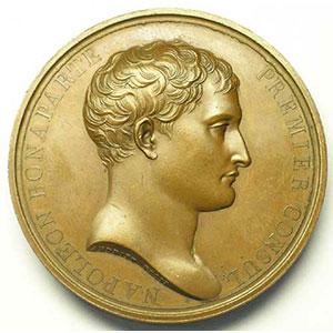 ANDRIEU   Rétablissement du Culte   An X (1802)   bronze   50 mm    TTB+/SUP