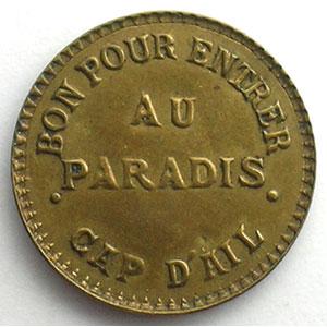 Au Paradis   Lt fourré, R 22 mm    SUP