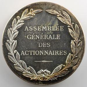BARRE   Médaille en argent  41mm   Compagnie des Messageries Maritimes   1851    SUP/FDC