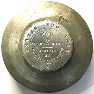 Belfort, Fort des Barres - entreprise MOREL   Paire de coins monétaires ayant servi à la frappe du jeton de 2 Francs    SUP