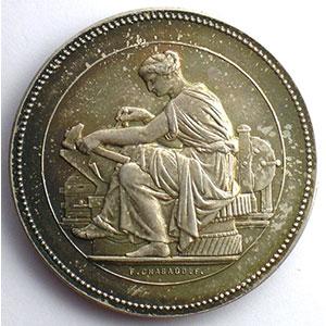 Besançon   jeton rond en argent    SUP/FDC