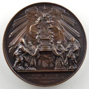 BIANCHI I.   Médaille en bronze 44mm   Chaire de Saint Pierre    SUP/FDC