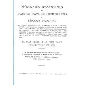 Numismatic foto  Books Byzantine coins RATTO R.   Monnaies byzantines