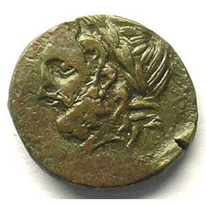 Bronze  17mm   (III° s. av.JC)    TB+/TTB