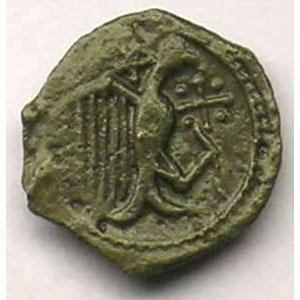 Bronze à l'aigle et au pentagramme    TB+/TTB
