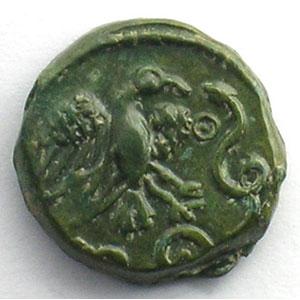 Bronze à l'aigle et au serpent    SUP