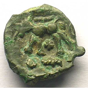Bronze anépigraphe au loup    TTB