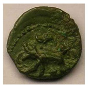Bronze au loup    TTB