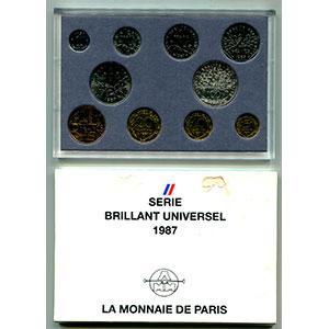 BU 1987   (10 pièces)
