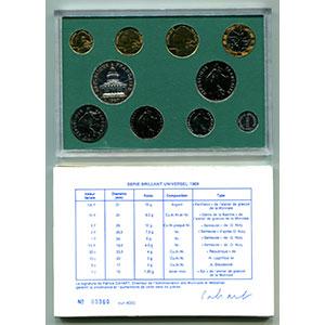 BU 1989   (10 pièces)