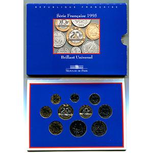 BU 1995   (10 pièces)