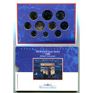 BU 1996   (10 pièces)