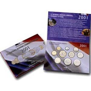 BU 2001   (10 pièces)
