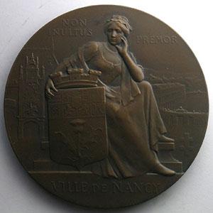 Bussière E.   Epreuve d'auteur en bronze   65mm    FDC