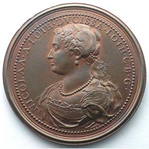Charles IV   bronze   47 mm    SUP