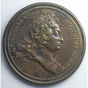 Charles V   bronze   47 mm    SUP