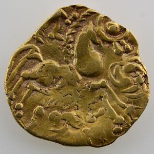 Numismatic foto  Coins Celtic coins Aulerques Eburovices Hémistatère au sanglier    TB/TTB