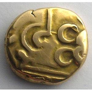 Numismatic foto  Coins Celtic coins Nerviens Statère à l'epsilon    TTB
