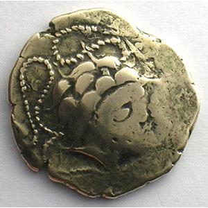 Numismatic foto  Coins Celtic coins Namnètes Statère d'électrum au génie hippophore    TB