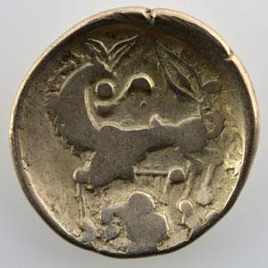 Numismatic foto  Coins Celtic coins Leuques Statère d'or à la lyre   (150-50 av. JC)    TB