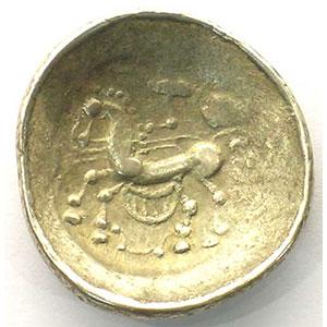 Numismatic foto  Coins Celtic coins Incertaines de l'Est Statère type de Crainvilliers   (150-50 av.JC)    TB+/TTB