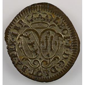 Numismatic foto  Coins Coins of Lorraine Duchy of Lorraine Léopold I   (1690-1729) 5 Liards    TTB+